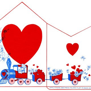 Retro Valentine Envelopes ~ Free Printables