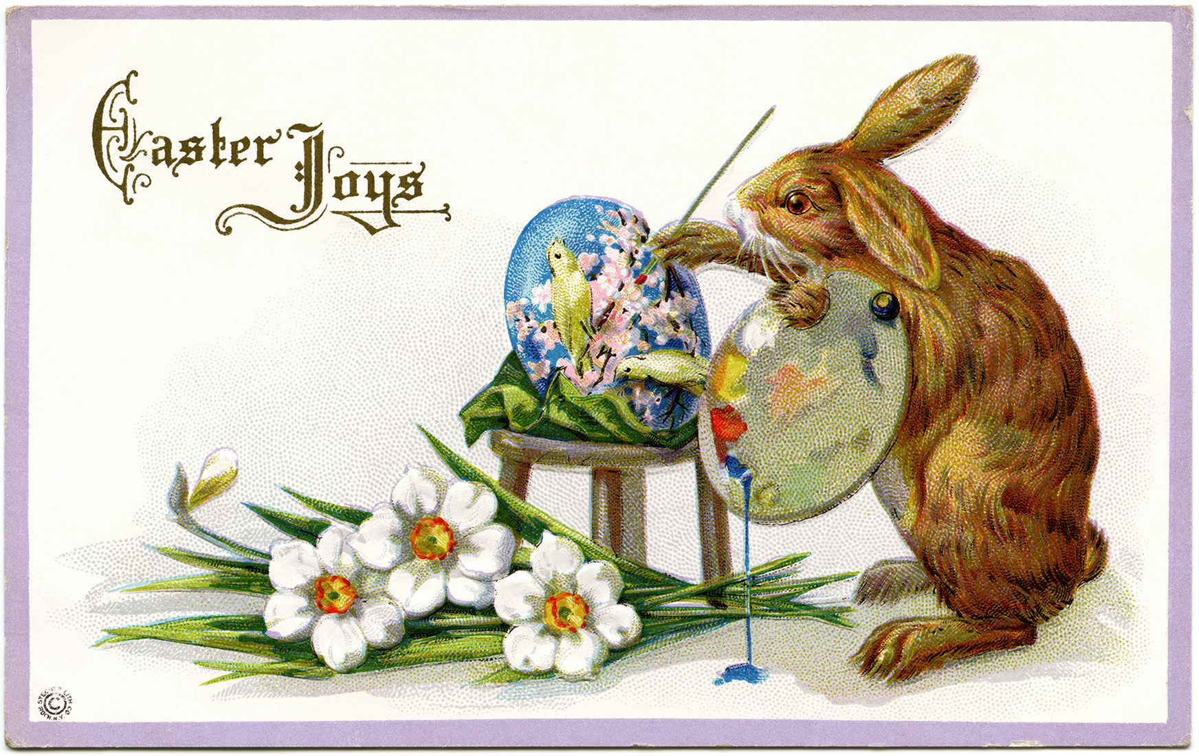 vintage easter bunny - photo #34
