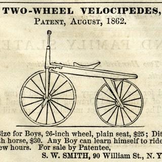 Two-Wheel Velocipede