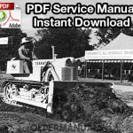 Case 600 Terratrac Crawler Dozer Service Manual