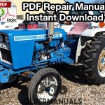 Ford 1100, 1200, 1300, 1500, 1700, 1900 Tractor Repair Manual