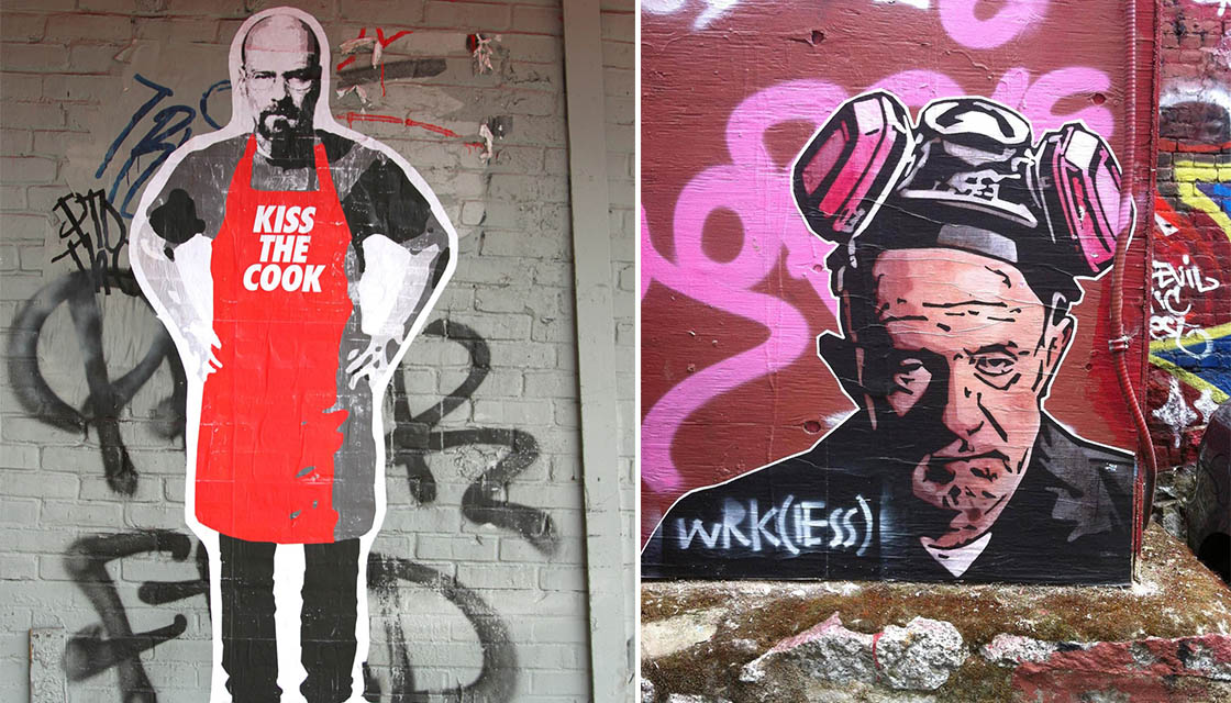 Breaking Bad Street Art 9