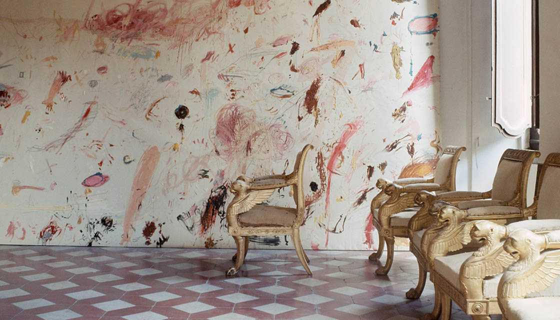 Cy Twombly's Home 2