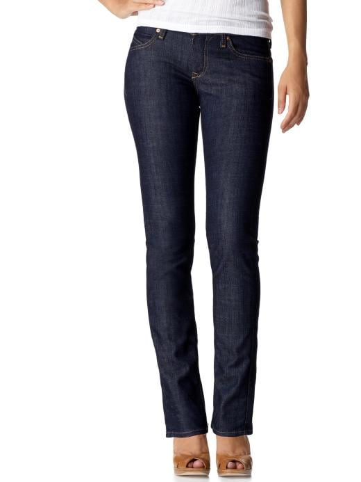Old Navy Womens The Diva Jeans Rinse Lowest Rise Skinny