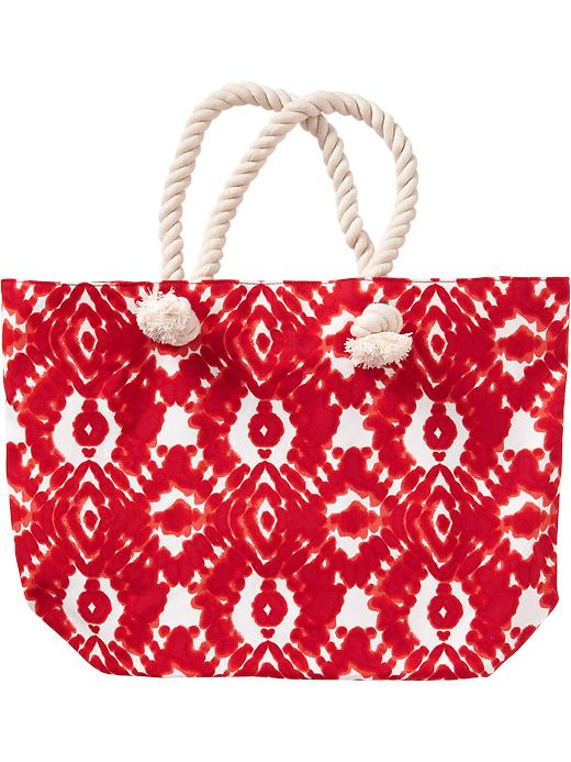 Old Navy Womens Printed Tote Bags