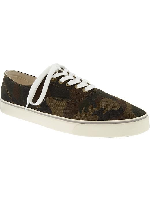 Old Navy Mens Canvas Sneakers - Camouflage