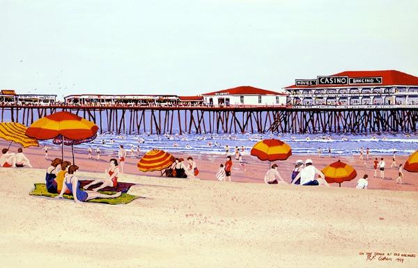 beach view history pier