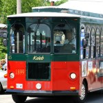 old orchard beach trolley