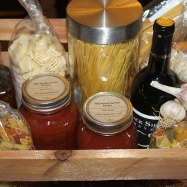 Creating A Homemade Gift Basket, Celebrate Christmas With Love & Food
