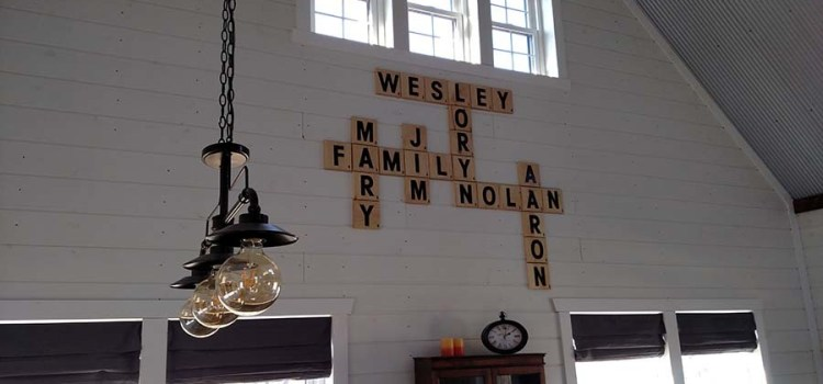 The DIY Scrabble Wall! The $24 Idea That Solved A Decorating Dilemma