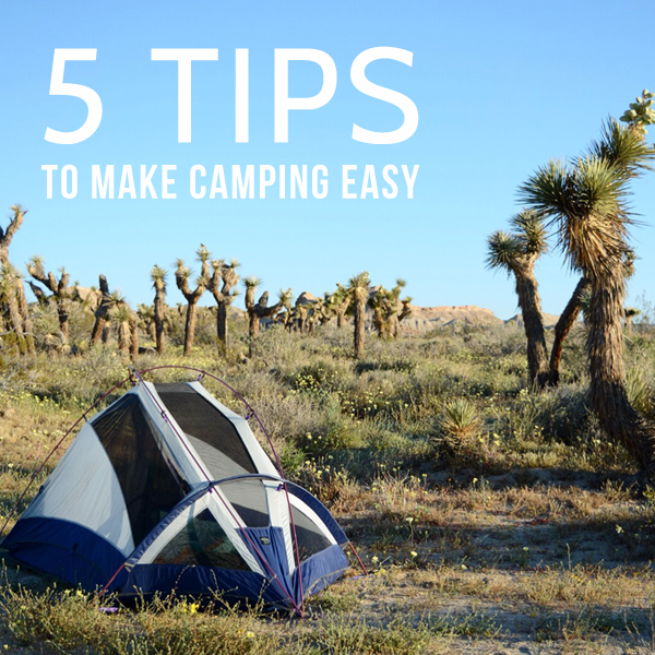 5 Tips To Make Camping Easy Oleander Palm