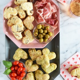 Savory Scones Two Ways for Valentine's Day