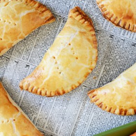 Buffalo Chicken and Blue Cheese Hand Pies