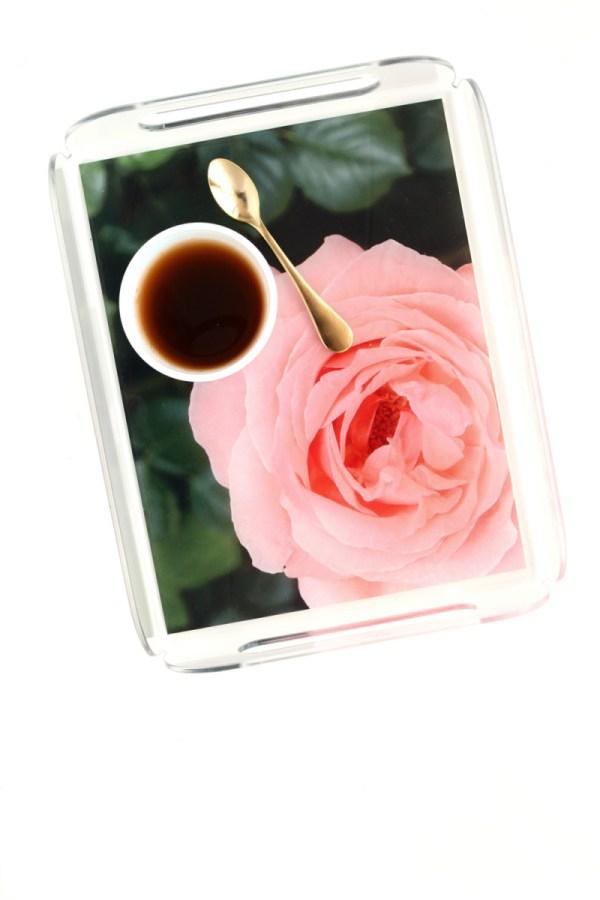 garden rose tray