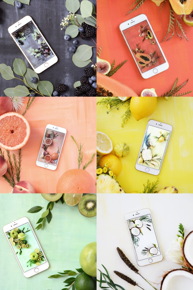 Fresh fruit digitial wallpapers. FREE download.