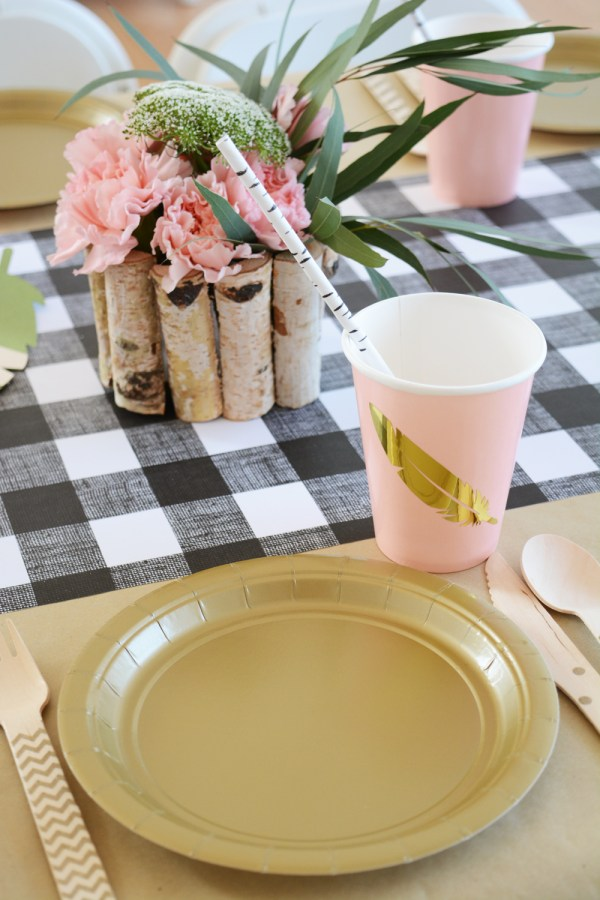 Wild and Free Boho Camping Themed Birthday Party