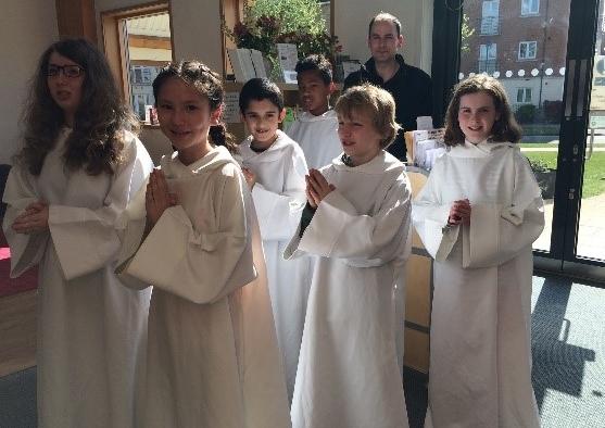 Cambourne altar servers