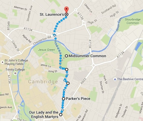 Cambridge Creation Walk - Part Two