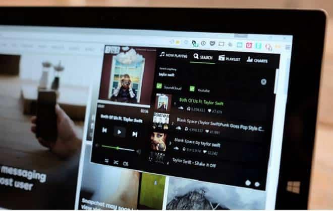 Extensão permite ouvir música no Chrome sem precisar abrir sites