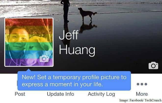 Facebook testa recurso que muda foto do perfil temporariamente