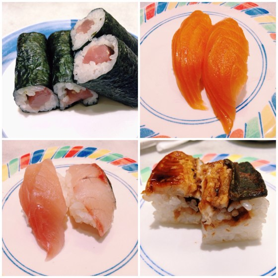 Kyoto station sushi