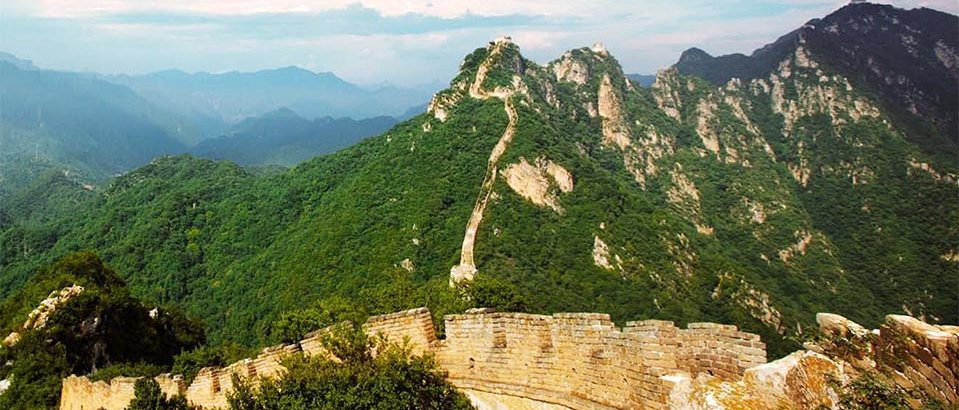 china great wall panorama