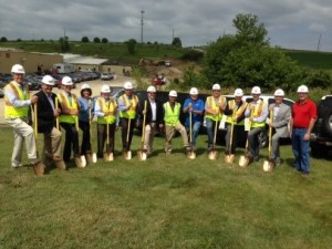 metal craft ground break team