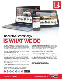 Royal LePage South Country Innovative Technology