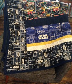 Small Of Star Wars Quilt