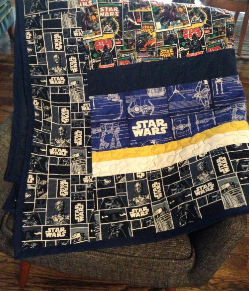 Medium Of Star Wars Quilt