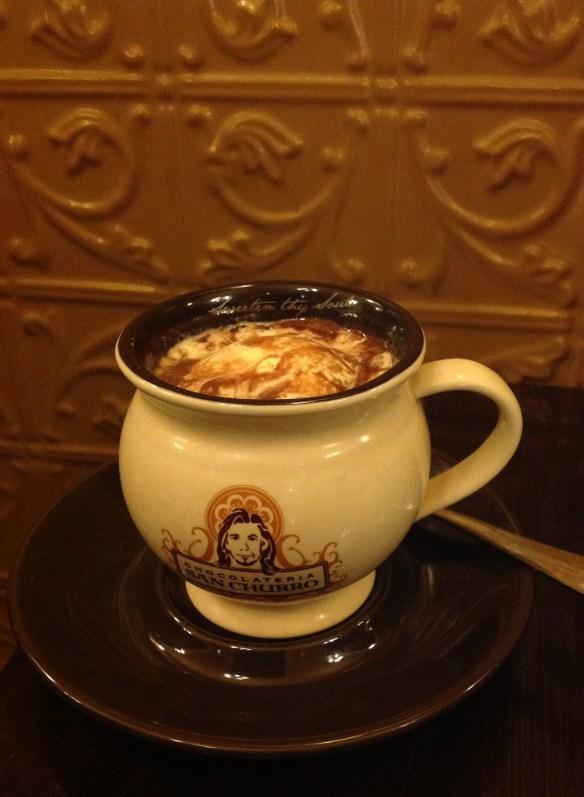 San Churro Spanish Hot Chocolate.