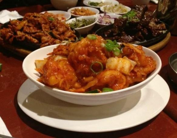 Kimchi Grandma - Sae-woo-bo-keum (Spicy King Prawns)