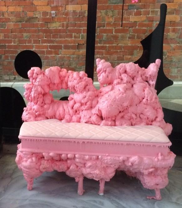 Zumbo Patisserie - Melting Ice-cream Chairs.