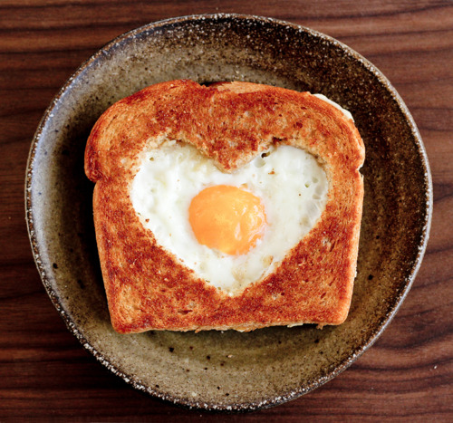 Valentine's Day - Heart Shaped Egg.