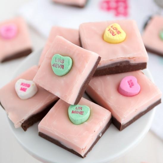 Valentine's Day - Sweetheart Fudge.