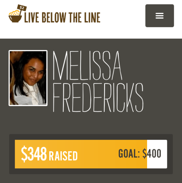Live Below the Line 2014 - Donate to a great cause!