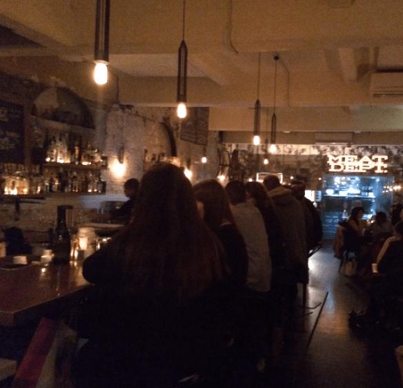 Meatball & Wine Bar - Insides.