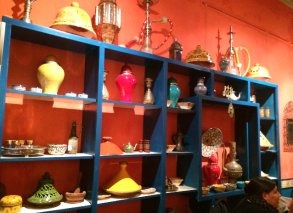 Moroccan Soup Bar - Stuff and things (Tea pots, Hookahs, Tagine cookware).