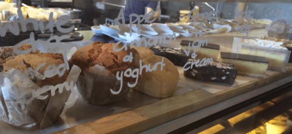 Mr. Brightside - Muffins and slices and scones oh my!