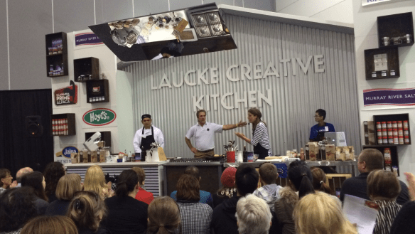 Good Food & Wine Show - Laucke Creative Kitchen.