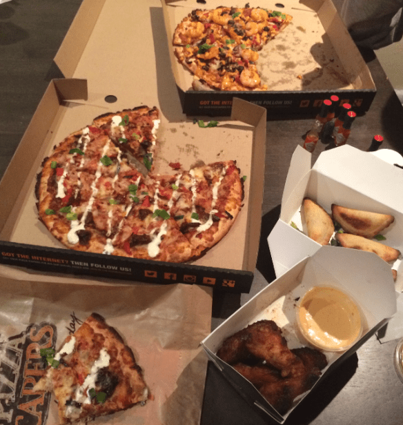 Pizza Capers - The Inferno Challenge.