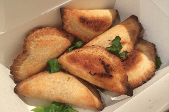 Pizza Capers - The Inferno Challenge - Spicy Empanadas.