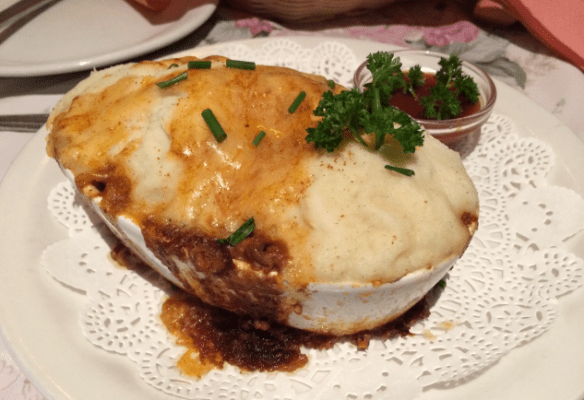 Miss Marple's Tea-room - Cottage Pie