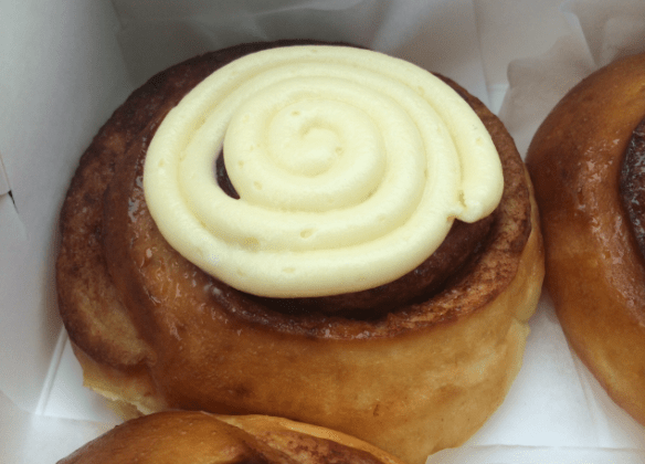 Pop up scroll - The original cinnamon and cream cheese scroll