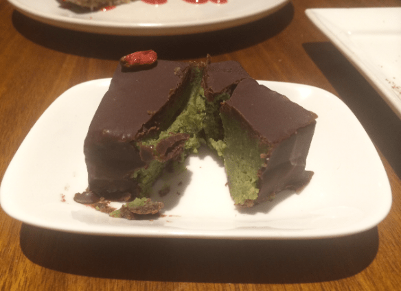 Yong Green Food - Green tea ganache