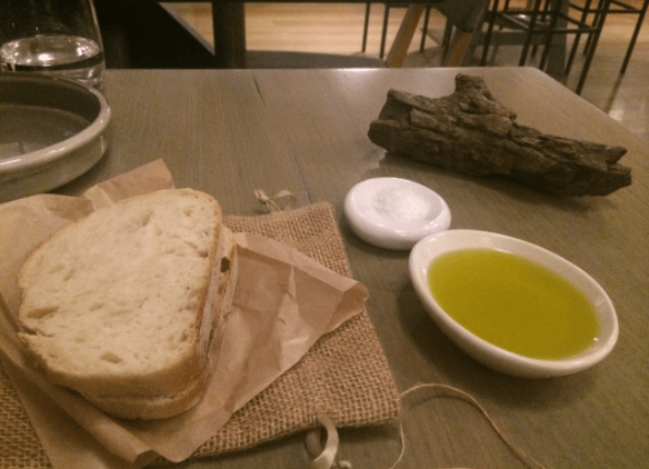 The Railway Hotel - Highline - Warm bread and Koojong Valley olive oil