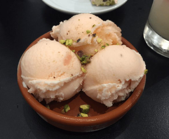 Tavlin - Turkish delight ice-cream