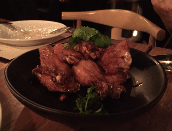 Sezar restaurant - Chicken wings w pomegranate glaze