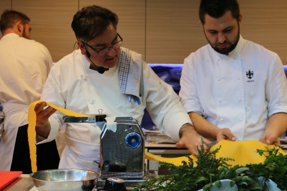 Truffle Melbourne Festival 2015 - rollin out the pasta