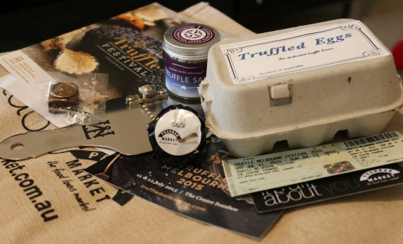 Truffle Melbourne Festival 2015 - yay truffle gifts!